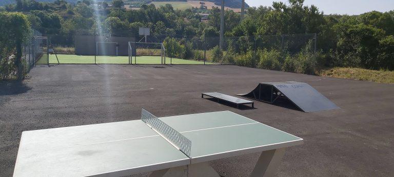skate-park et city