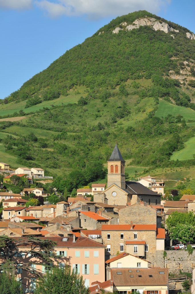 vue de Saint Georges de Luzençon