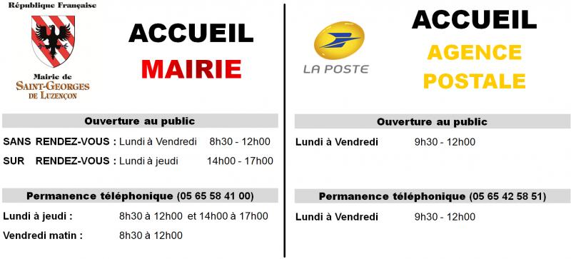 ACCUEIL MAIRIE-POSTE